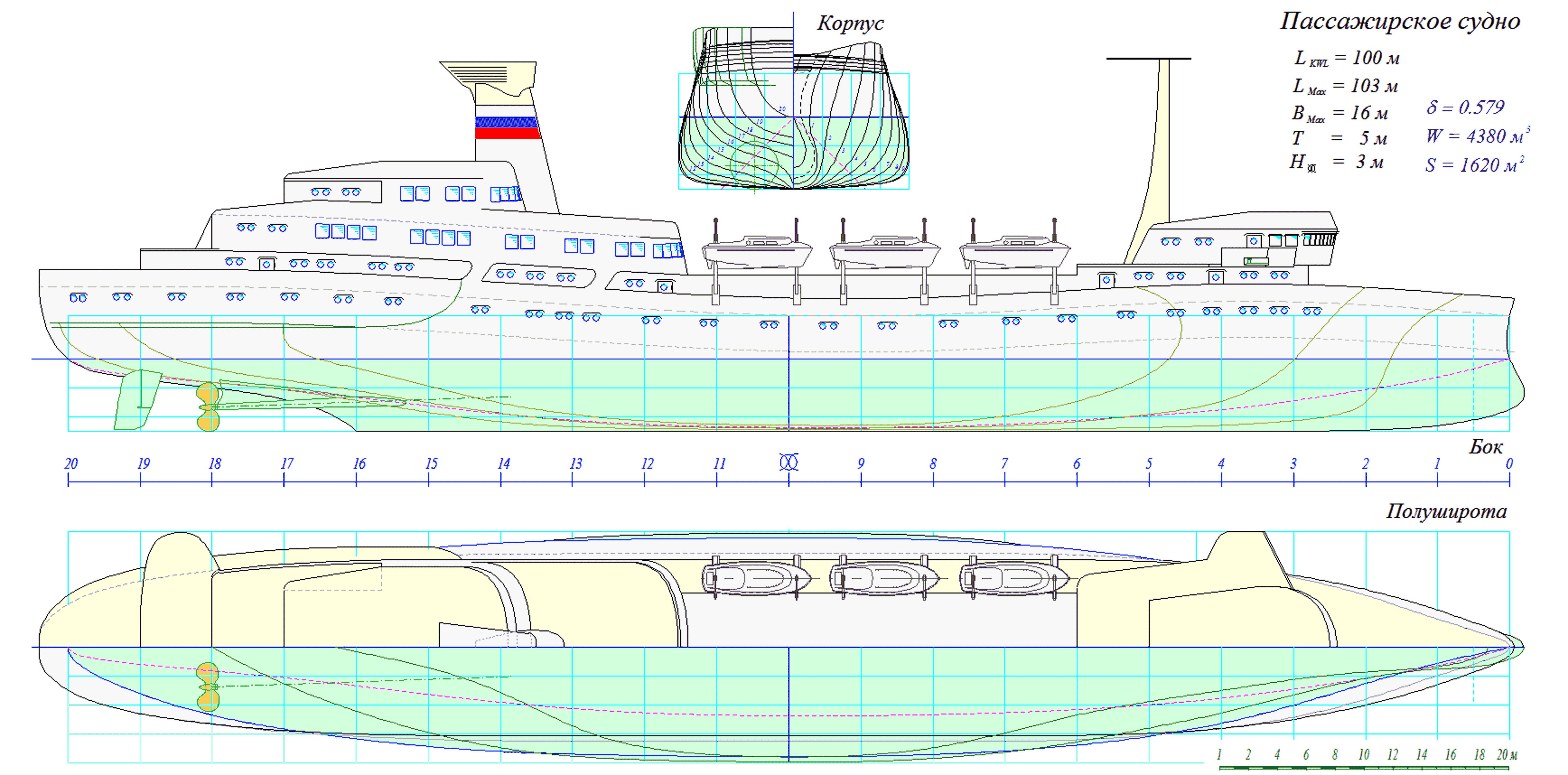Подруливающее устройство судна схема